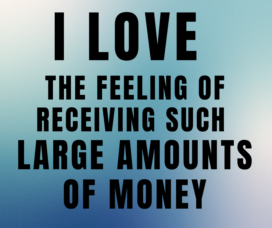 I am billionaire subliminal affirmations statement by Lowina Blackman the money mindset coach