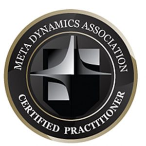 Meta Dynamics Association credited practitioner badge 2020