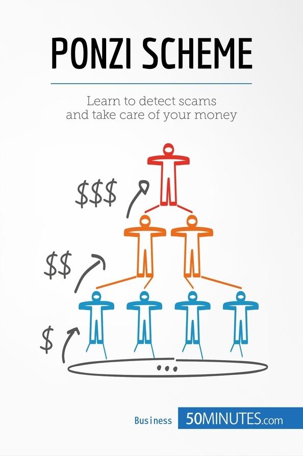 ponzi scheme chart illustration