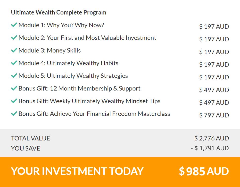 Ultimate Wealth Complete Program