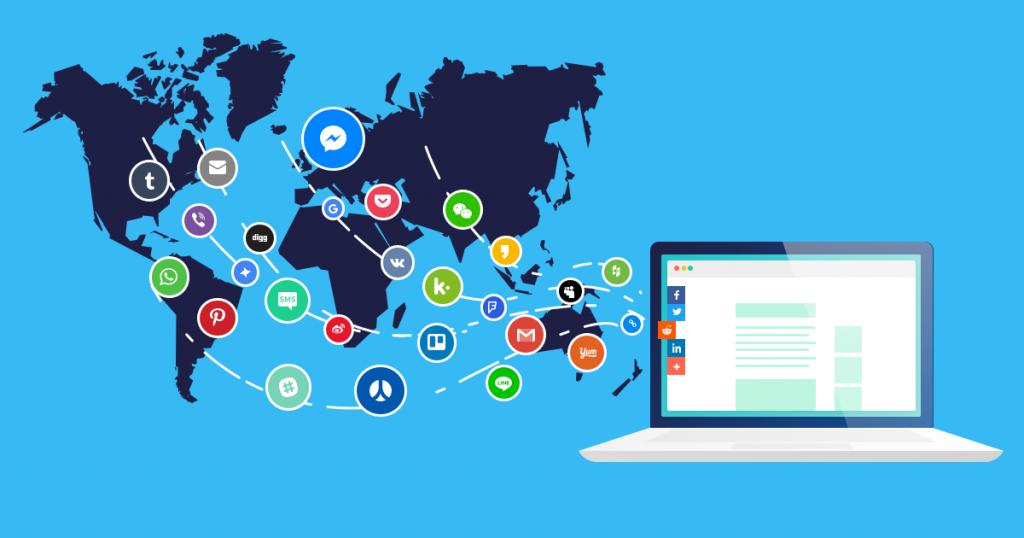Social Media Platforms in the World