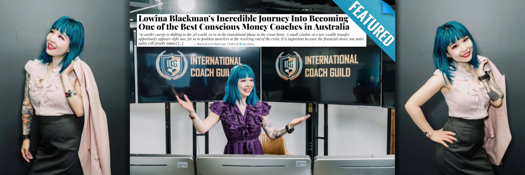 Lowina Blackman Featured on Thrive Global - Blog Image